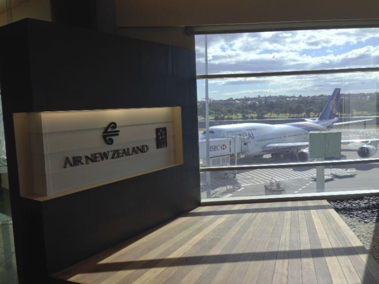 Air New Zealand Lounge Entrance