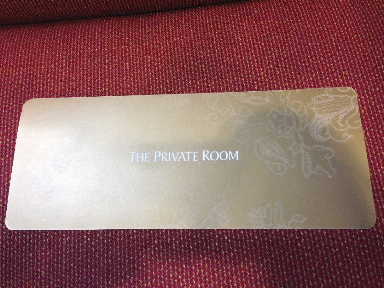 Private Room Pass