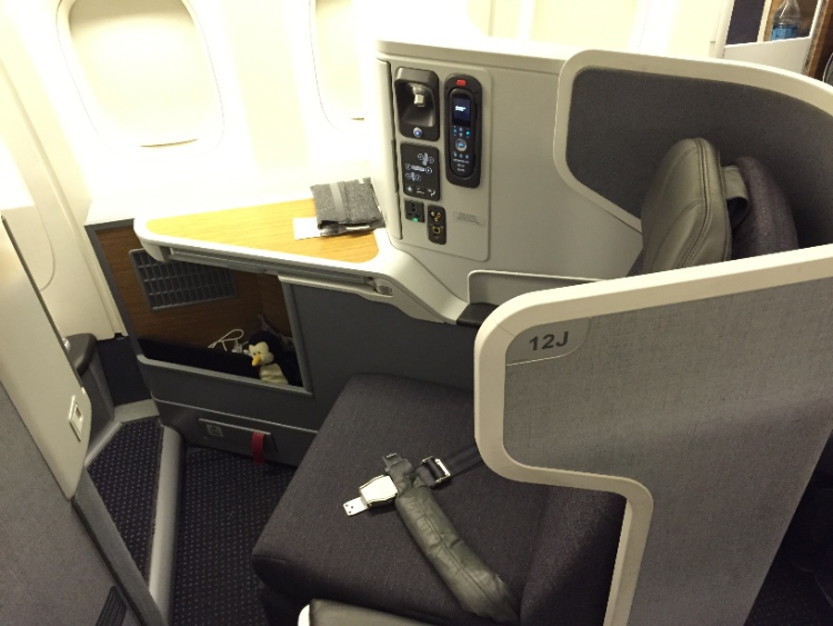 Business Class on American Airlines 777-300ER
